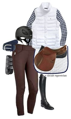 """it's vest season my friends"" by a-circuit-equestrian on Polyvore featuring Parlanti, J.Crew, Tommy Hilfiger and TC Fine Intimates"