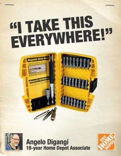 """The DeWalt 37-piece screwdriver set comes in a durable case and has all the bits you need-- I take this everywhere!"""