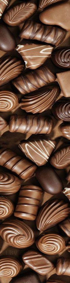 variety of chocolates Chocolate Dreams, Chocolate Delight, Death By Chocolate, I Love Chocolate, Chocolate Heaven, Chocolate Shop, Chocolate Factory, Chocolate Coffee, Chocolate Lovers