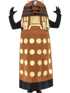 Dr Who Dalek Costume - One Size - Film and TV Fancy Dress - Dr Who Dalek Costume - One Size - Online-Fancy-Dress USA - (Powered by CubeCart)