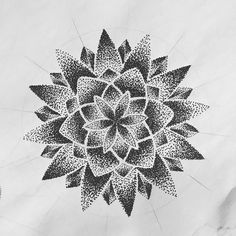 Fresh WTFDotworkTattoo Find Fresh from the Web Mandala flower sketch by @jurepog #mandala #sketch #dotwork blindlurkers WTFDotWorkTattoo