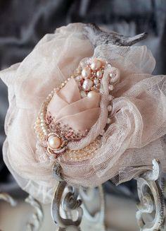 """Brooch handmade.  Fair Masters - handmade brooch-pendant """"Rose"""".  Handmade."""