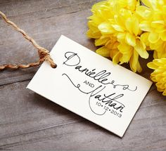 Save the Date   Personalized Wooden Stamp  by BARNSTATIONERY, $18.55