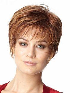 short hair cut front view