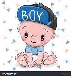 More Than 48 Cute Cartoon Baby Boy In A Cap Royalty Free Vector cute cartoon baby boy in a cap vector libre de derechos nettes karikatur-baby in einer kappe gebührenfreier vektor neonato sveglio del fumetto in un cappuccio royalty free vector