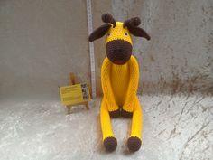 Crochet giraffe toy crochet animal crochet by kingsnqueenscrochet