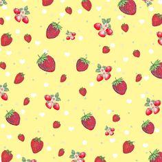 FREE Digital Scrapbook Paper - kitschy strawberry print Digital Scrapbook Paper, Printable Scrapbook Paper, Free Digital Scrapbooking, Printable Paper, Digital Stamps, Backgrounds Wallpapers, Food Backgrounds, Style Scrapbook, Fruit Pattern