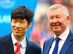Ji Sung Park & The Godfather.Park ji Sung has a special place at the hearts of United fans ... he worked his socks off in every single match and his goals vs Arsenal were just the icing on the cake ... #respect ♥