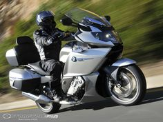 Motorcycle USA takes a spin on the BMW during its press introduction in South Africa. Does the Inline Six Beemer live up to the hype? Motorcycle Trailer, Motorcycle Camping, Motorcycle Touring, Girl Motorcycle, Motorcycle Quotes, Camping Gear, Touring Motorcycles, Triumph Motorcycles, Custom Motorcycles