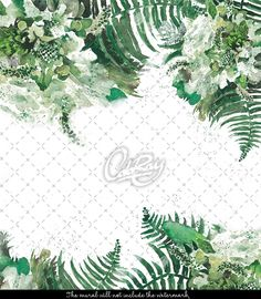 Tropische Grün Blatt lösbare Tapeten Blätter von loveCOLORAY