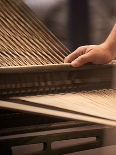 Creating the heritage trench coat - woven in a compact twill construction, yarn is transferred from the spools onto the weaver's beam in a process known as warping New Chinese, Traditional Chinese, Chinese Style, China Crafts, Chinese Element, Mood And Tone, Mood Images, Fabric Manipulation, China Fashion