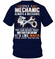 Mechanic Shop, Mechanic Gifts, Mechanic Humor, Mechanic Garage, Truck Mechanic, Funny Shirt Sayings, Shirts With Sayings, Funny Shirts, Funny Quotes