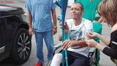 Motociclista Valentino Rossi abandona el hospital tras sufrir fractura de tibia y peroné