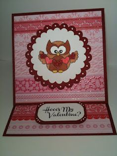 Loving this card made by Sarah using I Hoot You stamp set! <3