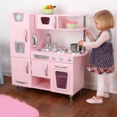 Vintage pink ♥ Toy Kitchen