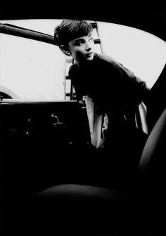 Audrey Hepburn at Paramount studios 1953