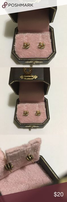 Juicy Couture Crown Earrings New Juicy Couture Jewelry Earrings
