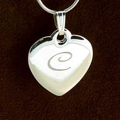 Our classic Personalized Heart Necklace is great for gift giving and receiving. With its timeless look and fun personalization, it is the perfect combination of style and class. Bridesmaid Jewelry, Bridesmaid Gifts, Bridesmaids, Copper Jewelry, Sterling Silver Jewelry, Silver Ring, Silver Engagement Rings, Ring Engagement, Engraved Jewelry