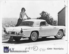 John Travolta's 1955 Thunderbird