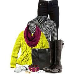 Bold basics for winter