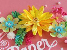 小紙クラフト - Kogami Craft Paper Quilling Designs, Quilling Paper Craft, Quilling Flowers, Quilling Ideas, Paper Crafts, Cute Diy Projects, Quilling Techniques, Do It Yourself Projects, Cute Diys
