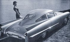 1954 Oldsmobile Cutlass concept car - Lost Show & Concept Cars of GM Oldsmobile Cutlass, Retro Cars, Vintage Cars, Vintage Concept Cars, Vintage Photos, Dream Cars, Automobile, Roadster, Engin