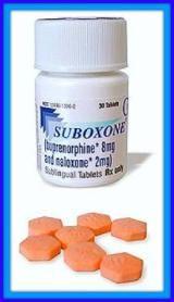 What Is Suboxone?: Suboxone pills with bottle