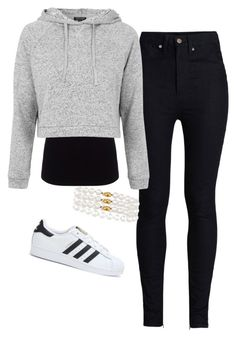 """""""Untitled #99"""" by jayla-gore ❤ liked on Polyvore featuring Rodarte, Joseph, Topshop, adidas and Tiffany & Co."""
