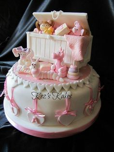 New Baby's Birth Cake, In View Of The Toys....Sorry...The Joys To Come! …