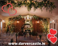How gorgeous is Darver Castle Ceremony Room?🥰🥰 We are just as much in love with it as our couples. Thanks to Martina Crilly for her creative inspiration, totally revamping the Ceremony Room. Brewing Tea, Simply Beautiful, Creative Inspiration, Getting Married, Dreaming Of You, Wedding Venues, How To Memorize Things, Wedding Planning, Dream Wedding