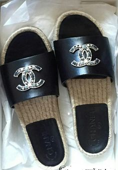 Pinterest | ivoryandaurora  Instagram | theavilagirl_v Coco Chanel, Chanel Flats, Chanel Jewelry, Heeled Boots, Shoe Boots, Shoes Sandals, Chanel Slides, Chanel Store, Dream Shoes