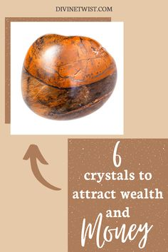 Need to attract wealth and money into your life? We put together a list of the top stones for money, wealth and abundance. Keep one of these crystals near you or meditate to attract abundance into your life. #crystals #meditation #spirituality #stones Crystals For Wealth, Crystals In The Home, Crystals And Gemstones, Stones And Crystals, Healing Gemstones, Wicca Crystals, Money Spells That Work, Feng Shui Wealth, Lucky Stone