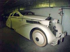 Jonckheere Rolls-Royce Phantom l Aerodynamic Coupe 1925