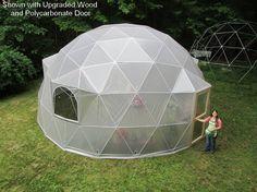 Geodesic Dome Greenhouse Kit