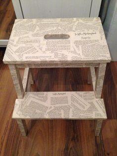 hocker bekv m versch nern upcycling recycling pinterest bekv m hocker und ikea. Black Bedroom Furniture Sets. Home Design Ideas