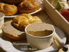 Majoránnás tejes-májas 🍴 Bread, Drinks, Food, Drinking, Beverages, Brot, Essen, Drink, Baking