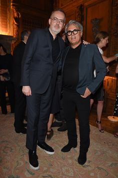 Jim Moore and Giuseppe Zanotti @ GQ Party, Milan, June 2015