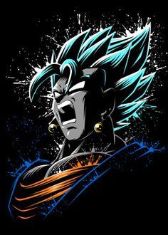 Attack of the DBZ Anime & Manga Poster Print Dragonball Anime, Foto Do Goku, Goku Wallpaper, Deadpool Live Wallpaper, Dragonball Wallpaper, Super Anime, Dragon Ball Gt, Animes Wallpapers, Avengers