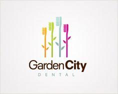 Logo designed for Vida Dental Center me Pinterest Flower