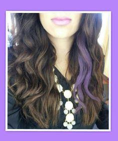 Purple peek a boo