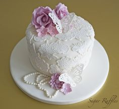 Lace cake, Happy Mother's Day