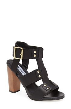 A white or metallic pedicure with these black sandals would be so cute!