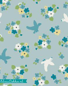 Pattern design for Hema babywear by Silvia Dekker.nl
