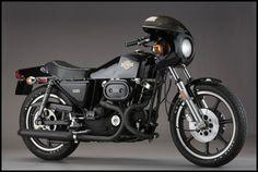 The Harley used by Michael Douglas in Black Rain