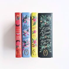 the loveliest books illustrated by Anna Bond of Rifle Paper Co.