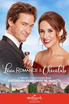 Its a Wonderful Movie - Your Guide to Family and Christmas Movies on TV Love Romance and Chocolate - a Hallmark Channel Original Movie starring Lacey Chabert Will Kemp Brittany Bristow Family Christmas Movies, Hallmark Christmas Movies, Holiday Movie, Hallmark Movies, Family Movies, Películas Hallmark, Hallmark Channel, Valentines Movies, The Sweetest Thing Movie