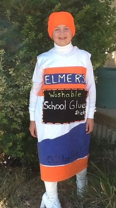 Coolest Life Sized Homemade Icee Costume For A Girl  sc 1 st  Cartoonview.co & elmeru0027s glue halloween costume | Cartoonview.co