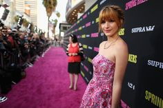 bella thorne spring breakers movie premiere | Thorne Actress Bella Thorne attends the Spring Breakers premiere ...