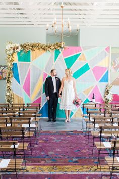 Creative Fig House LA wedding: Callie + Andrew