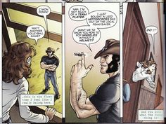 Wolverine first class is a great series that shows the relationship between logan and kitty pryde in the early years.